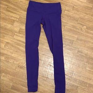 Athleta Purple Leggings. Size Small Tall.